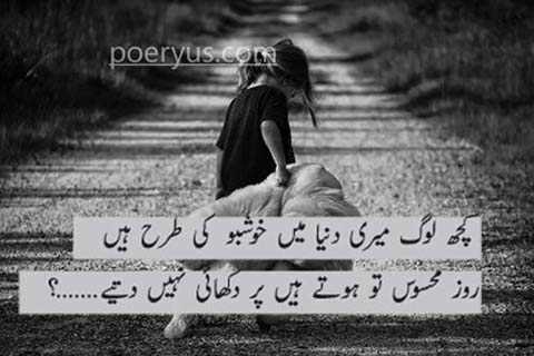 urdu shyari sad love