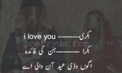 bakra eid poetry about love