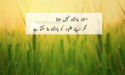 teacher urdu poetry