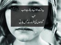 Yeh Waqt Jawab Data Hai Jab-waqt shayari 2 lines