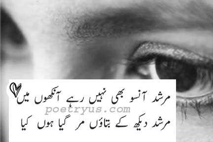 cry shayari in english