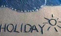Holidays Poems