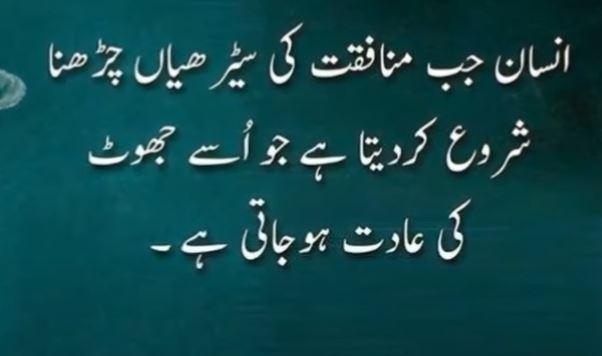 Zindagi thought In Urdu