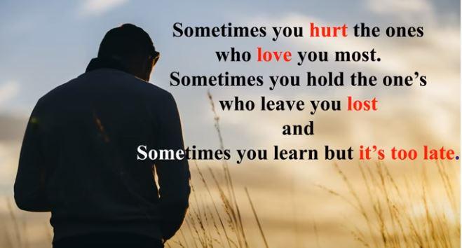 pain depression sad quotes