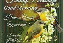 good morning happy friday god images