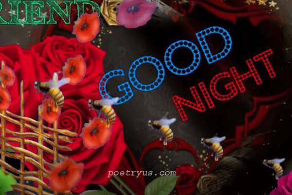 dard bhari dosti shayari good night
