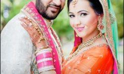 indian wedding couple poses photos