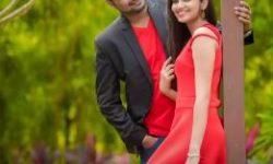romantic indian wedding couple poses
