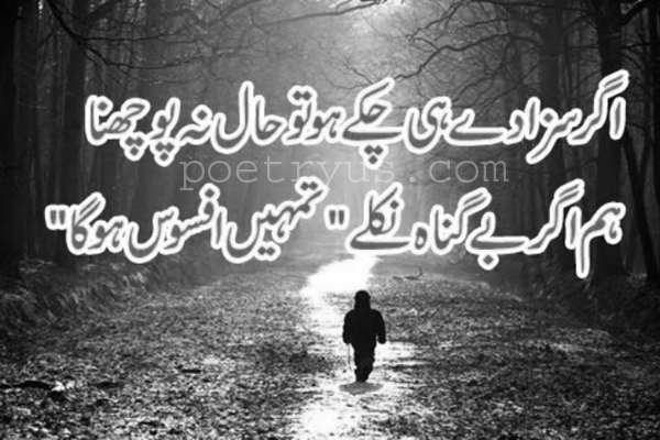 afsos quotes in urdu