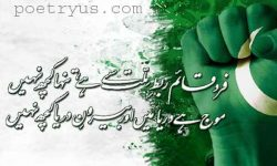 shayari on pakistan in urdu