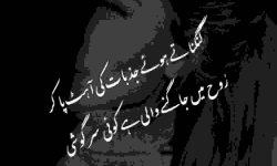 aahat poetry in urdu